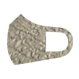 砂浜 Full Graphic Mask