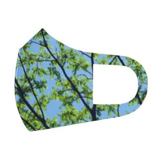森林浴🌲 Full Graphic Mask