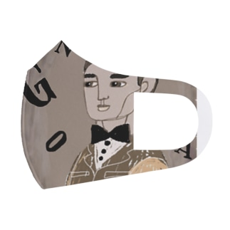 Homme Garcon Full Graphic Mask