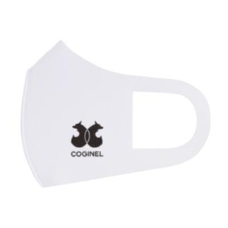 コギパロディ「シ●ネル」コギネル(黒) Full Graphic Mask