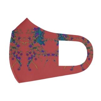 赤いリンリン Full Graphic Mask