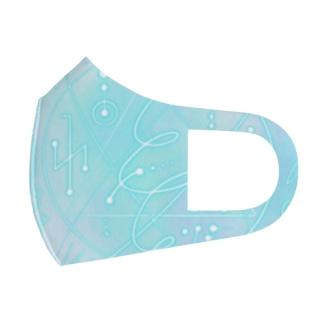 エネルギーアート 水晶 Full Graphic Mask