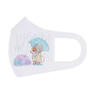 雨の日 Full Graphic Mask