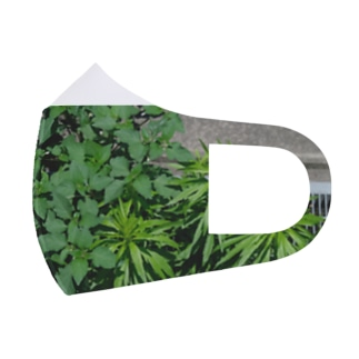 Leaves  Full Graphic Mask