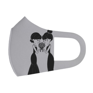 ウェディング Full Graphic Mask