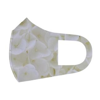 花のような貝殻 Full Graphic Mask