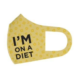 I'M ON A DIET MASK Full Graphic Mask