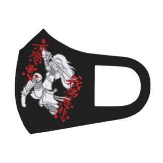 我佛慈悲亦懲悪!(モノクロ版) Full Graphic Mask