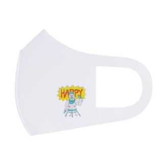 HAPPY LIFE HAPPY HOME BABY HOME Full Graphic Mask