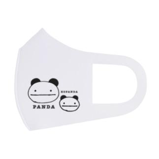 ぱんだこぱんだ Full Graphic Mask