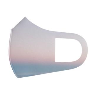 宇宙ステーションで見た朝焼け Full Graphic Mask