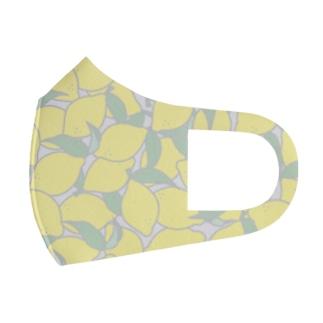 爽やかレモン Full Graphic Mask