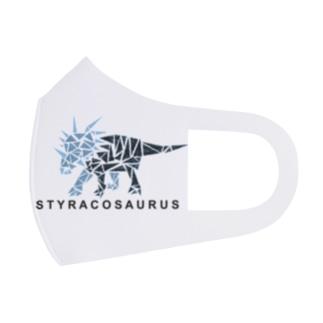 スティラコサウルス(三角形) Full Graphic Mask