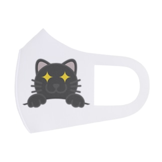 ドラネコ Full Graphic Mask