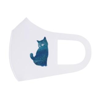 宇宙猫 Full Graphic Mask
