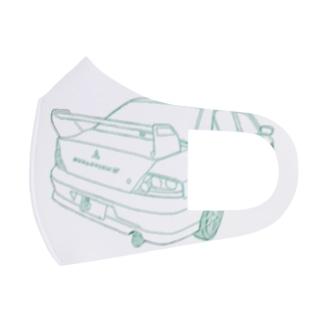 えぼ7 Full Graphic Mask