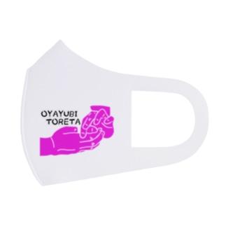 OYAYUBI TORETA Full Graphic Mask
