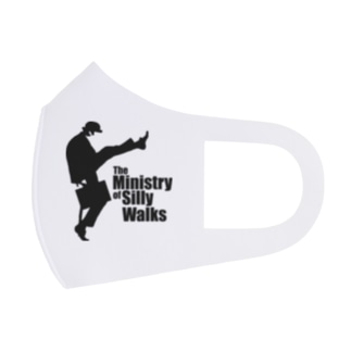 The Ministry of Silly Walks(バカ歩き省)2/2 Full Graphic Mask