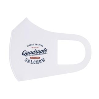 Quadruple Salchow Full Graphic Mask