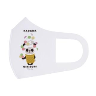 【香川】おいりソフトパンダ Full Graphic Mask