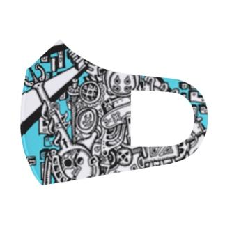 夏の神様 Full Graphic Mask