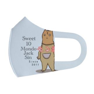 Sweet 10 MondoJackSin -モン獣- Full Graphic Mask