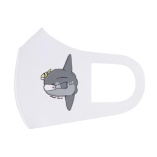 イラストマスク(マンボウ) Full Graphic Mask