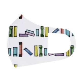 図書館 Full Graphic Mask
