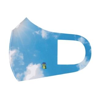 青空つちのこマスク Full Graphic Mask