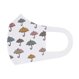 雨に負けるな Full Graphic Mask
