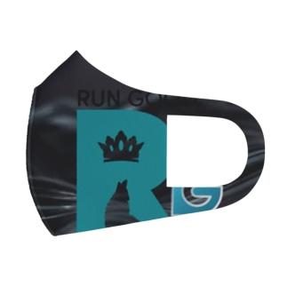 RUN GOOD Full Graphic Mask