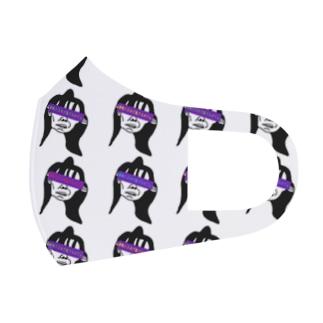 酢豚たまねぎ抜きおばさん Full Graphic Mask