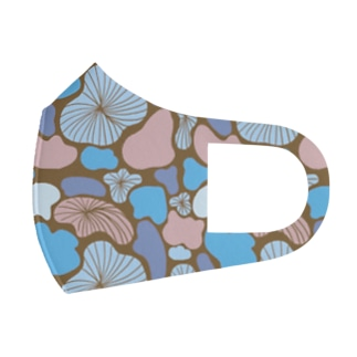 Lily Pad in Paradise Full Graphic Mask