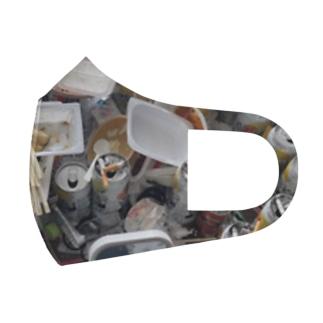 ゴミ屋敷 Full Graphic Mask
