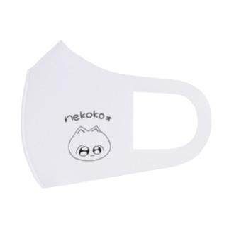 Nekokoォ Full Graphic Mask
