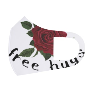 free hugs Full Graphic Mask