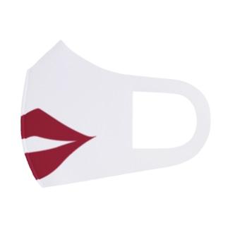 セクシー唇マスク(深みレッド) Face Mask