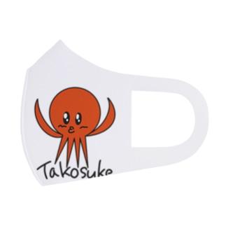 Takosuke Full Graphic Mask