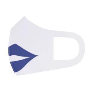 セクシー唇マスク(ブルー) Face Mask