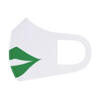 セクシー唇マスク(グリーン) Face Mask