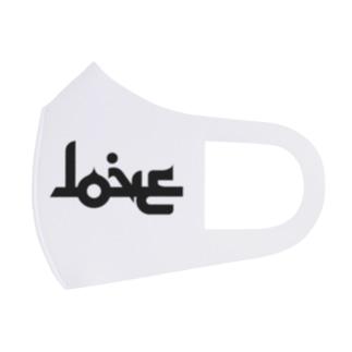 LOVE ラブ アラビア風 Full Graphic Mask