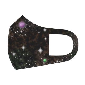 キラキラ宇宙 Full Graphic Mask