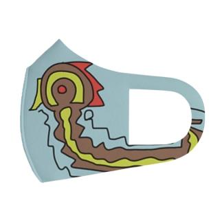 ドラゴン Full Graphic Mask