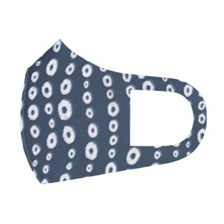 【タコ柄】 吸盤水玉 Full Graphic Mask
