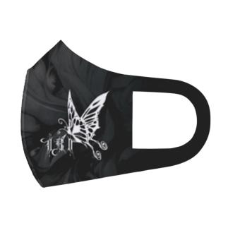 "IBI Logo-MASK "" Butterfly"" Full Graphic Mask"