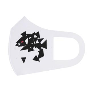 SHARK 🦈 Full Graphic Mask