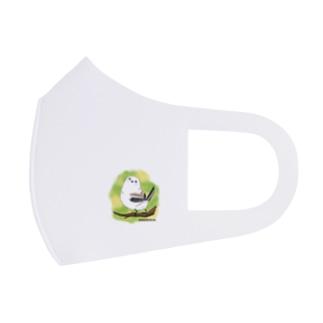 シマエナガのギンちゃん Full Graphic Mask
