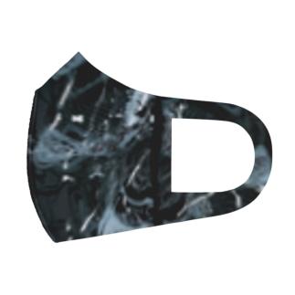 幾何学模様 T Full Graphic Mask