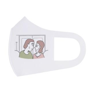 近すぎる Full Graphic Mask