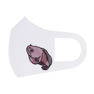 タマコンニャクウオ Full Graphic Mask